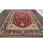 Traditional Persian Kashmar Rug 10.8X8.2